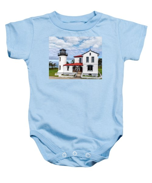 Admiralty Head Lighthouse Baby Onesie