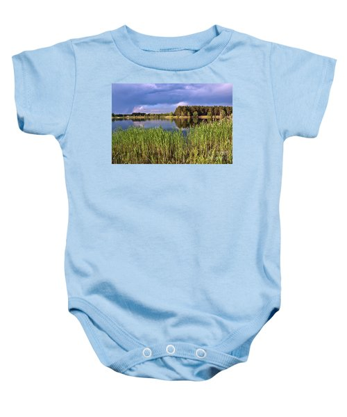 After The Rain Poetry Baby Onesie