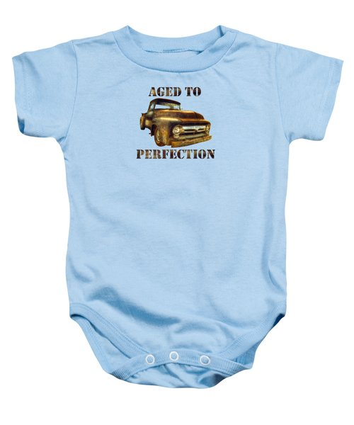 Aged To Perfection Baby Onesie