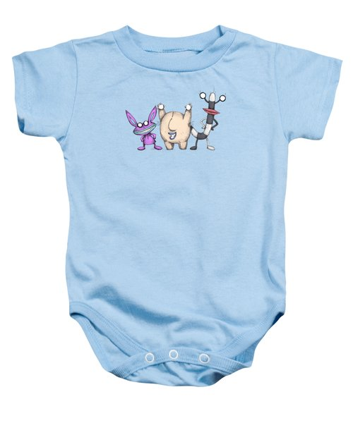 Ahh Real Plushies Baby Onesie
