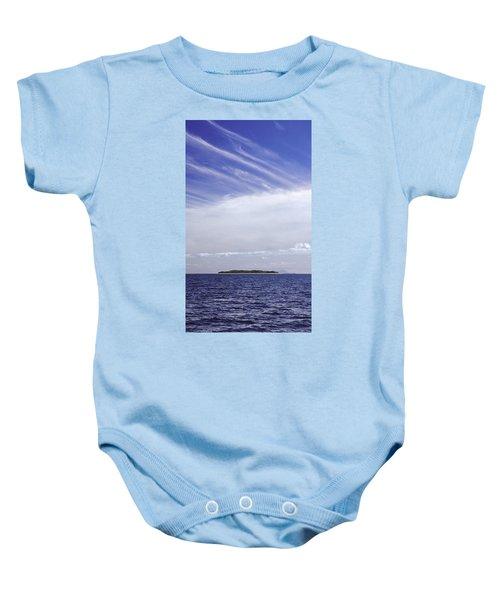 Ahoy Bounty Island Resort Baby Onesie