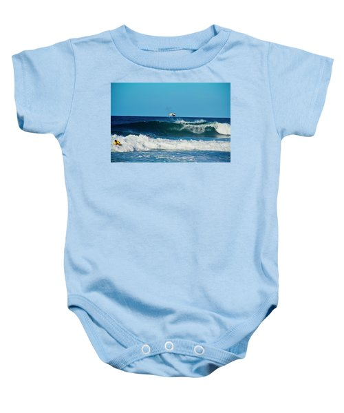 Air Bourne Baby Onesie