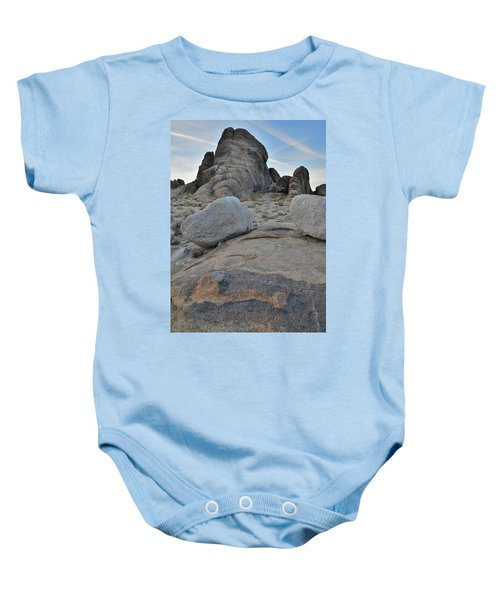 Alabama Hills Boulders At Dusk Baby Onesie