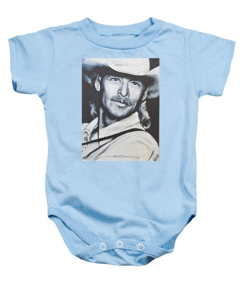 Alan Jackson - In The Real World Baby Onesie