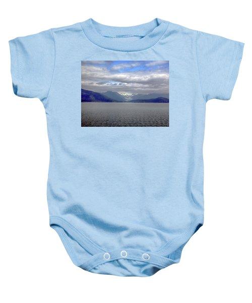 Alaskan Coast 2 Baby Onesie