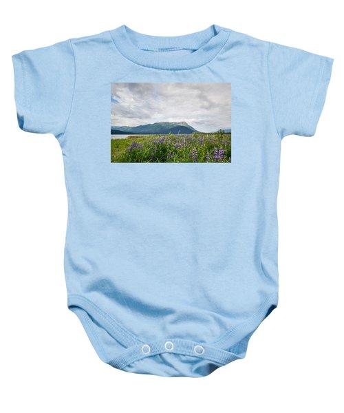 Alaskan Wildflowers Baby Onesie