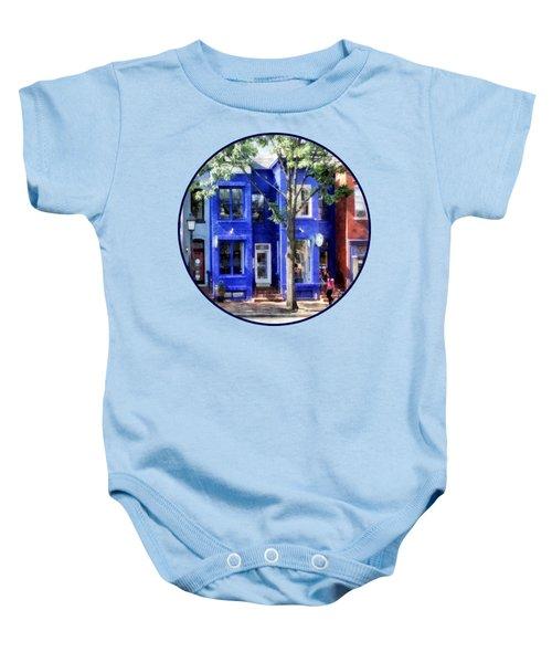 Alexandria Va - Colorful Street Baby Onesie