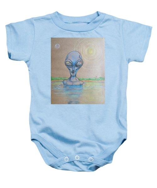 Alien Submerged Baby Onesie