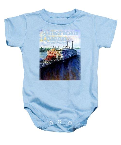 American Queen Shirt Baby Onesie