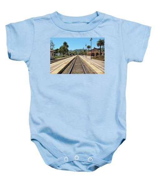 Amtrak Station, Santa Barbara, California Baby Onesie