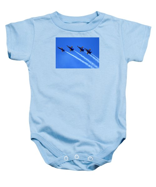 Angels Four Baby Onesie