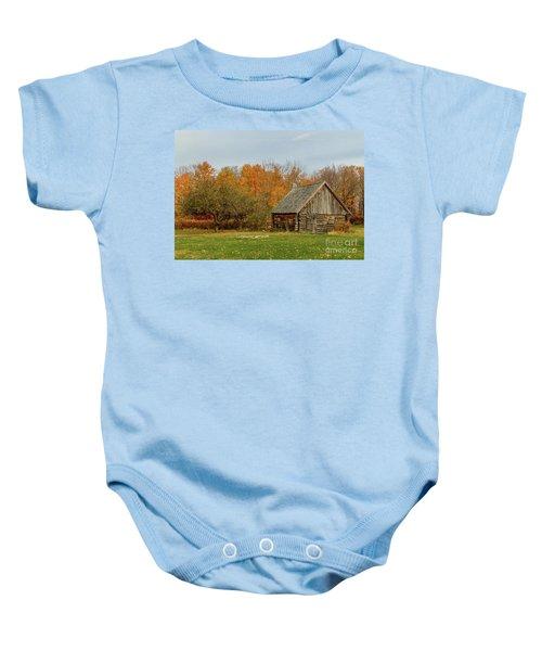 Apple Season At The Woods Baby Onesie
