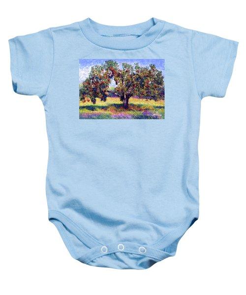 Apple Tree Orchard Baby Onesie