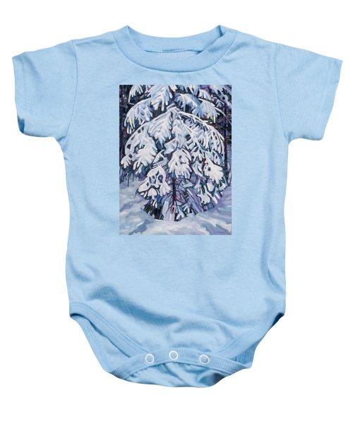 April Snow Baby Onesie