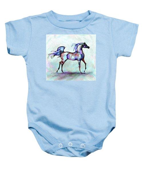 Arabian Horse Overlook Baby Onesie
