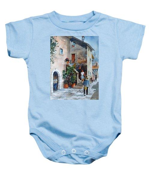Arezzo-3 Baby Onesie