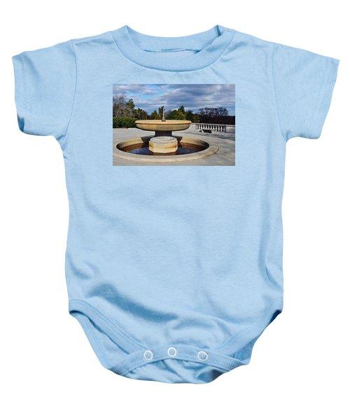 Arlington National Cemetery Memorial Fountain Baby Onesie