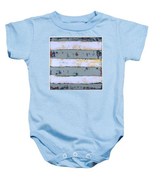 Art Print Stripes Baby Onesie