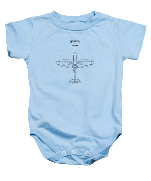 The Spitfire Baby Onesie by Mark Rogan