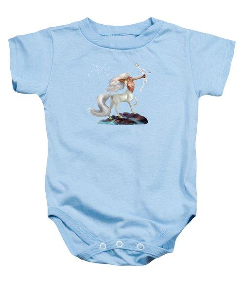 Mystical Sagittarius Baby Onesie by Glenn Holbrook
