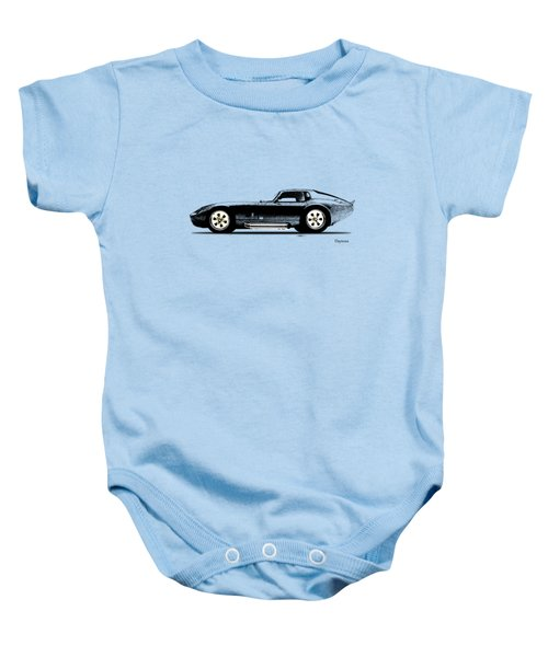 The Daytona 1965 Baby Onesie by Mark Rogan