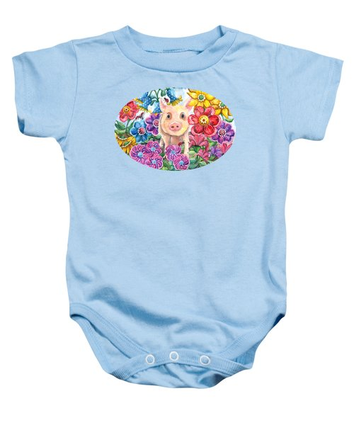 Penelope Baby Onesie by Shelley Wallace Ylst