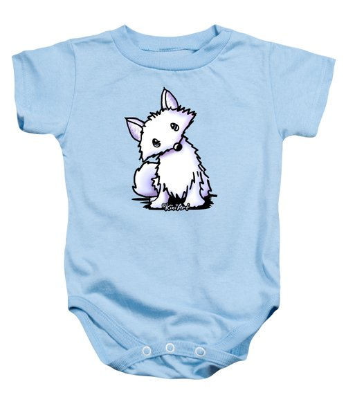 Arctic Fox Baby Onesie