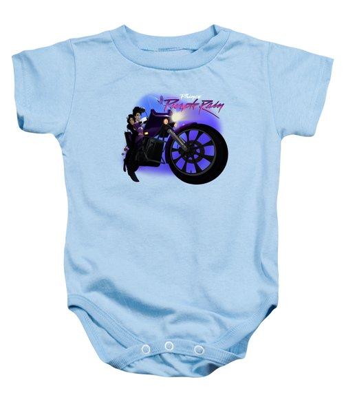I Grew Up With Purplerain 2 Baby Onesie