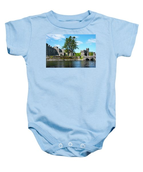 Ashford Castle And Cong River Baby Onesie