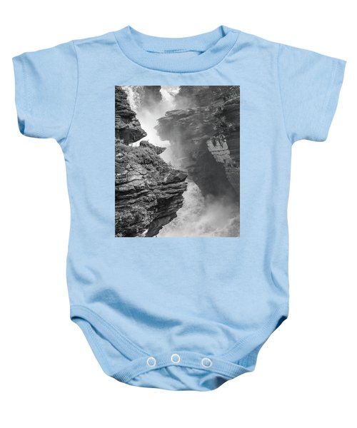 Athabasca Falls Baby Onesie
