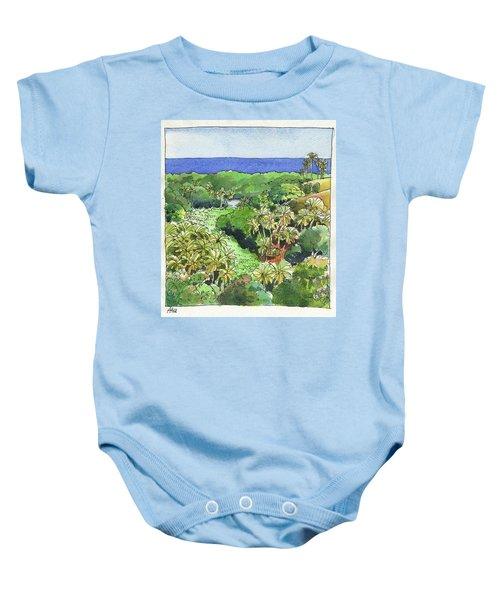 Atiu Lake View Baby Onesie