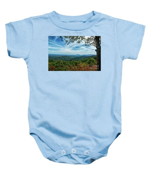 Atop The Mountain Baby Onesie