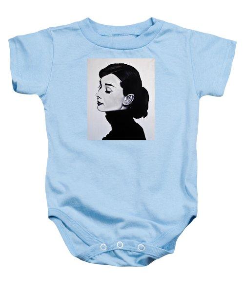 Audrey Hepburn 1 Baby Onesie