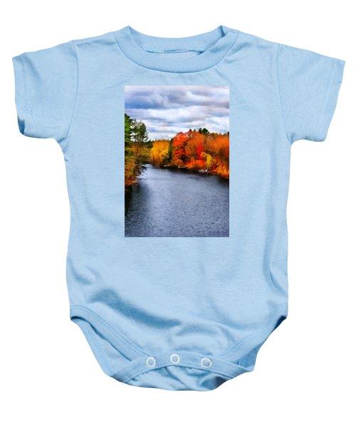 Autumn Channel Baby Onesie