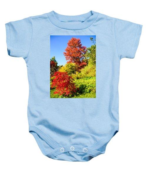 Autumn Colours Baby Onesie