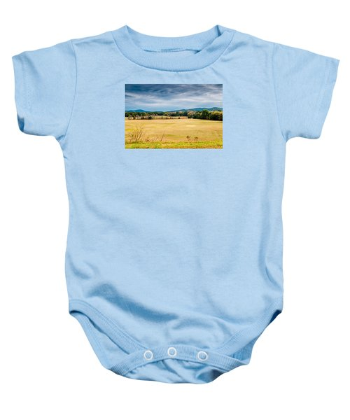 Autumn Field Baby Onesie