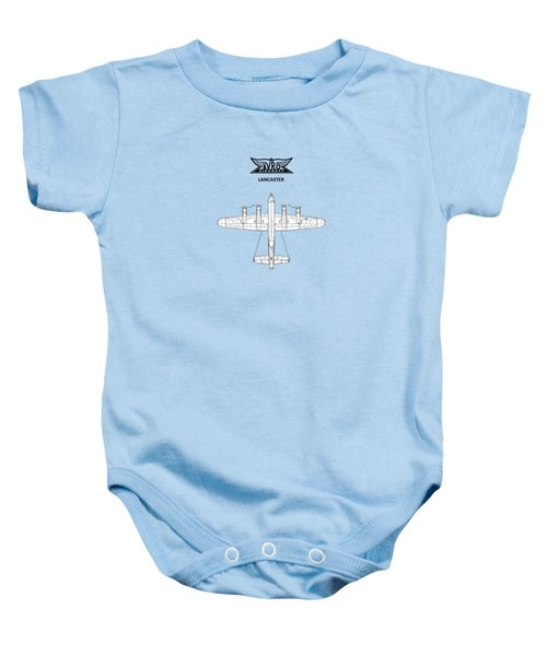 Avro Lancaster Baby Onesie by Mark Rogan
