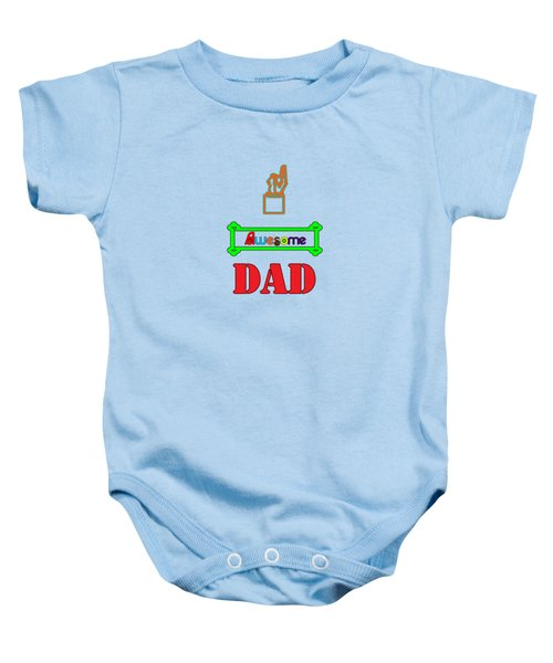 Awesome Dad Baby Onesie