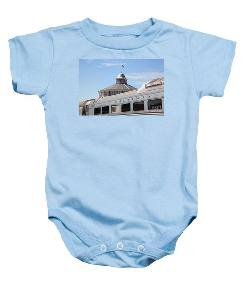 B And O Railroad Museum In Baltimore Maryland Baby Onesie