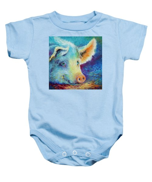 Baby Blues Piggy Baby Onesie