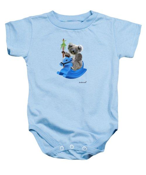 Baby Koala Buckaroo Baby Onesie by Glenn Holbrook