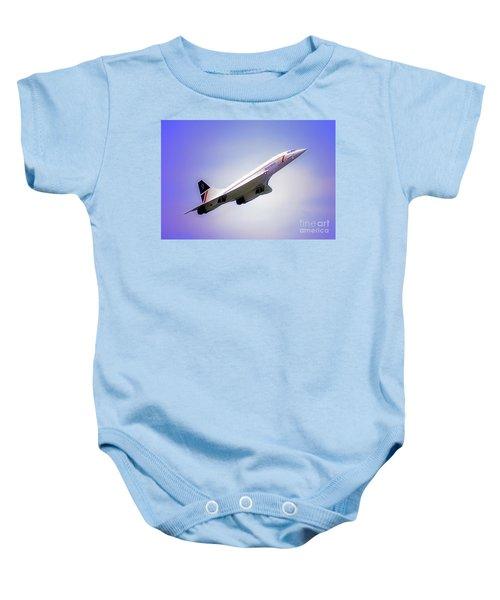 Bac Concorde  Baby Onesie
