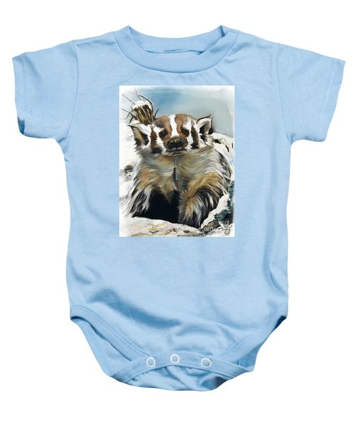 Badger - Guardian Of The South Baby Onesie
