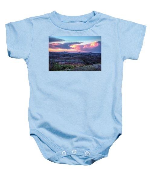 Badlands Sunrise Baby Onesie