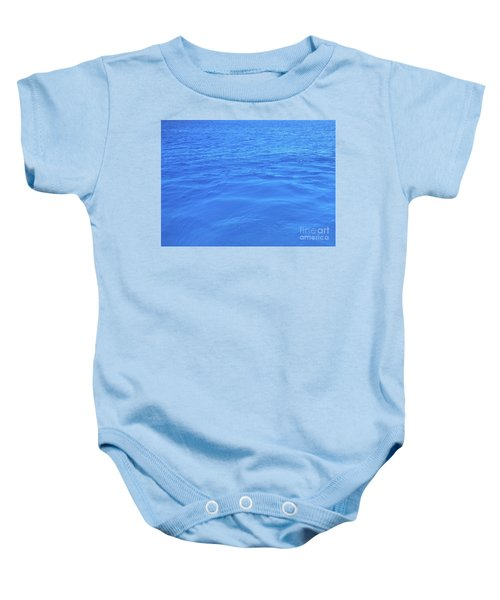 Bahama Blue Baby Onesie