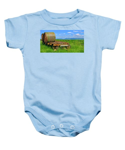 Bales At Rest Baby Onesie