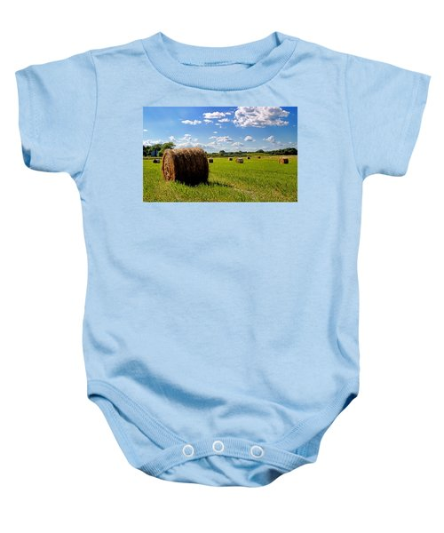 Bales Of Clouds Baby Onesie