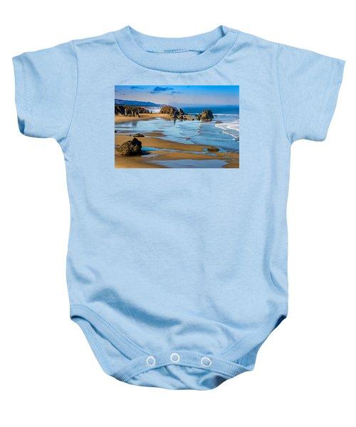 Bandon Beach Baby Onesie