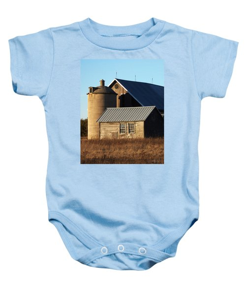 Barn At 57 And Q Baby Onesie