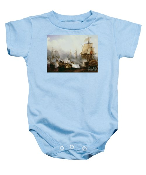 Battle Of Trafalgar Baby Onesie